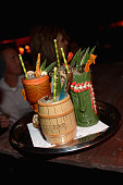 A general view of atmosphere The Art Of Tiki A Cocktail Showdown presented by The Captain Morgan Rum Company hosted by Emeril Lagasse during 2015...