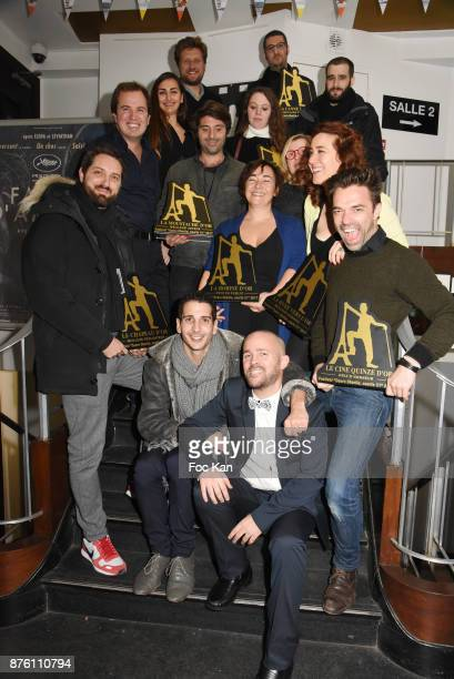 A general view of atmosphere with Jury and Nominees withÊ Anne Marie Jeannerot Agathe Zocco di Ruscio Nicolas Colle Franck Llopis Brieux Ferot...