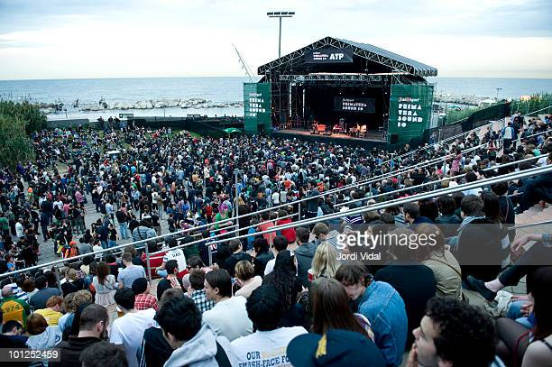 General View of ATP stage during day two of Primavera Sound Festival at Parc Del Forum on May 28 2010 in Barcelona Spain