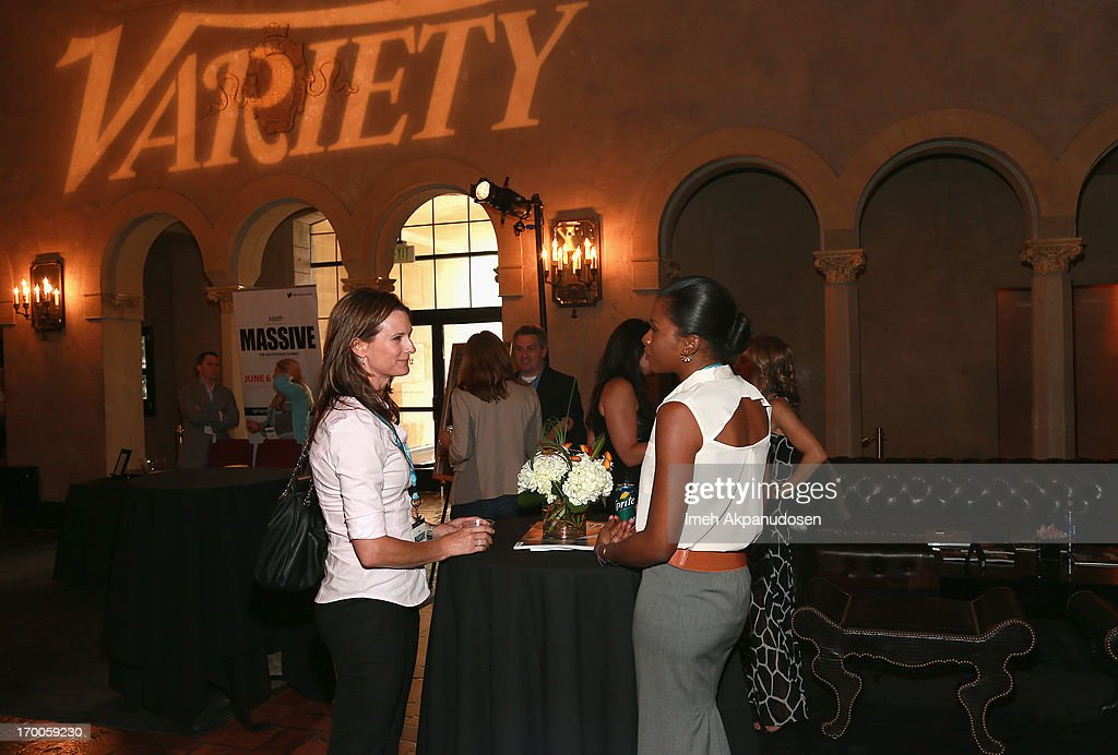 A general view of attendees during Variety Presents