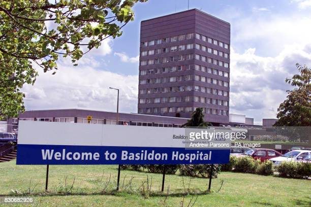 General view of Basildon Hospital in Essex where on August 2 an oxygen pipe blockage occurred with an unnamed patient who was under anaesthetic but...