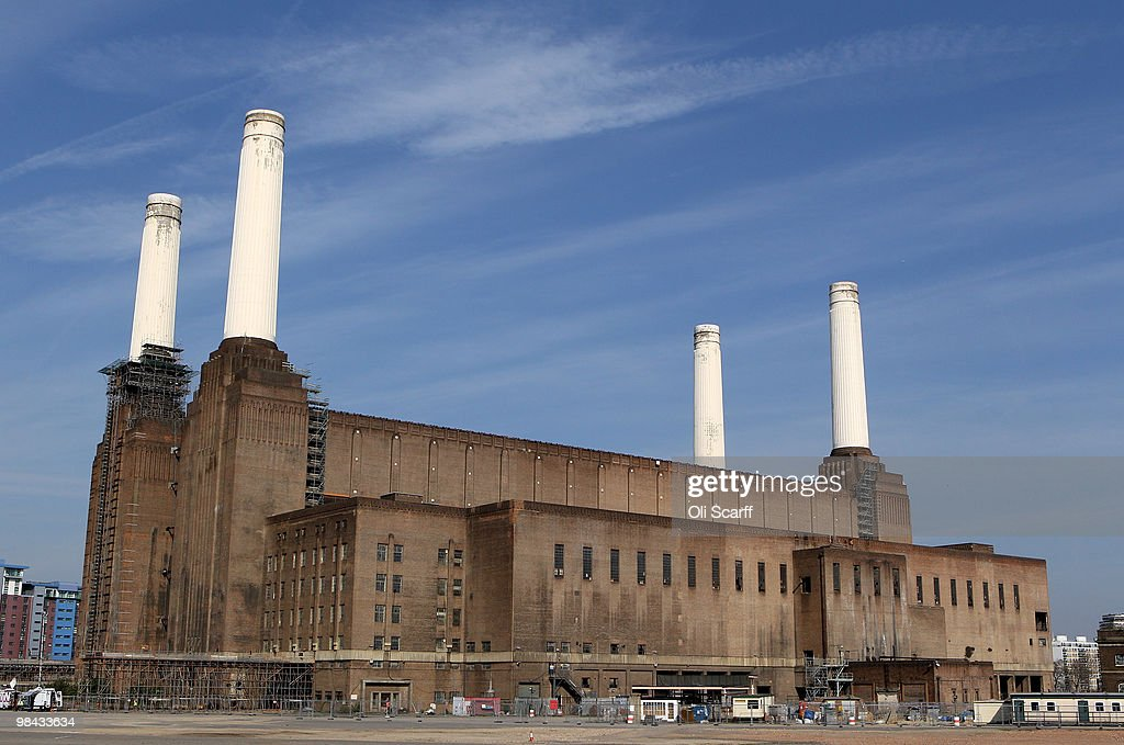 A general view of Battersea Power Station on April 13 2010 in London England Constructed in the 1930s Battersea was one of the first large coalfired...