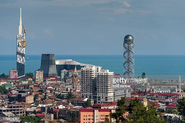 General view of Batumi, Georgia