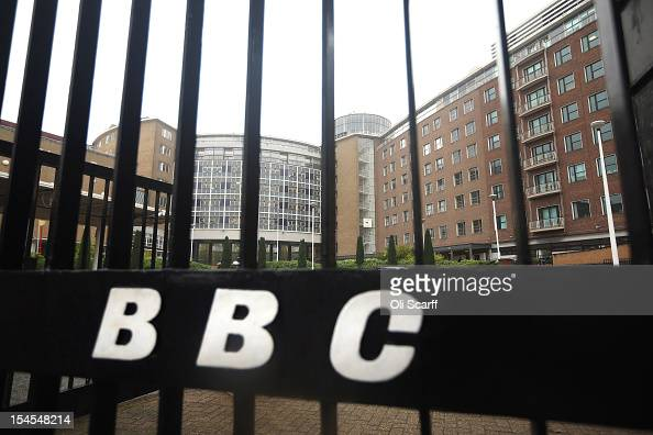 A general view of BBC Television Centre on October 22 2012 in London England The BBC producer in charge of a BBC2 'Newsnight' documentary into sexual...