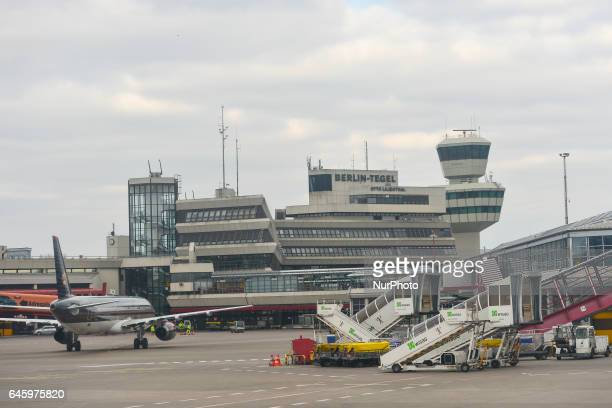 A general view of Berlin Tegel Airport On Monday February 27 Berlin Germany