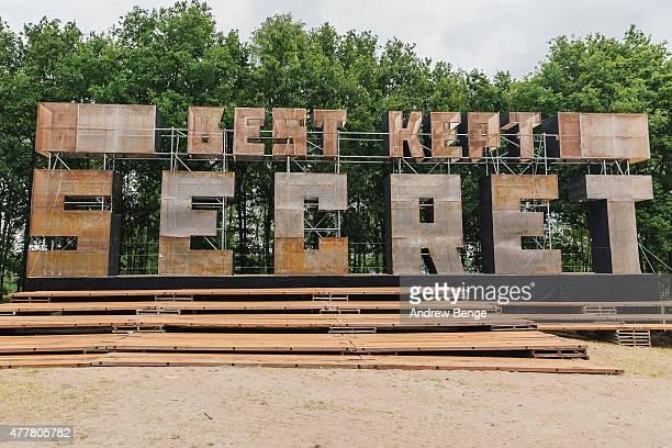 General view of Best Kept Secret Festival at Beekse Bergen on June 19 2015 in Hilvarenbeek Netherlands