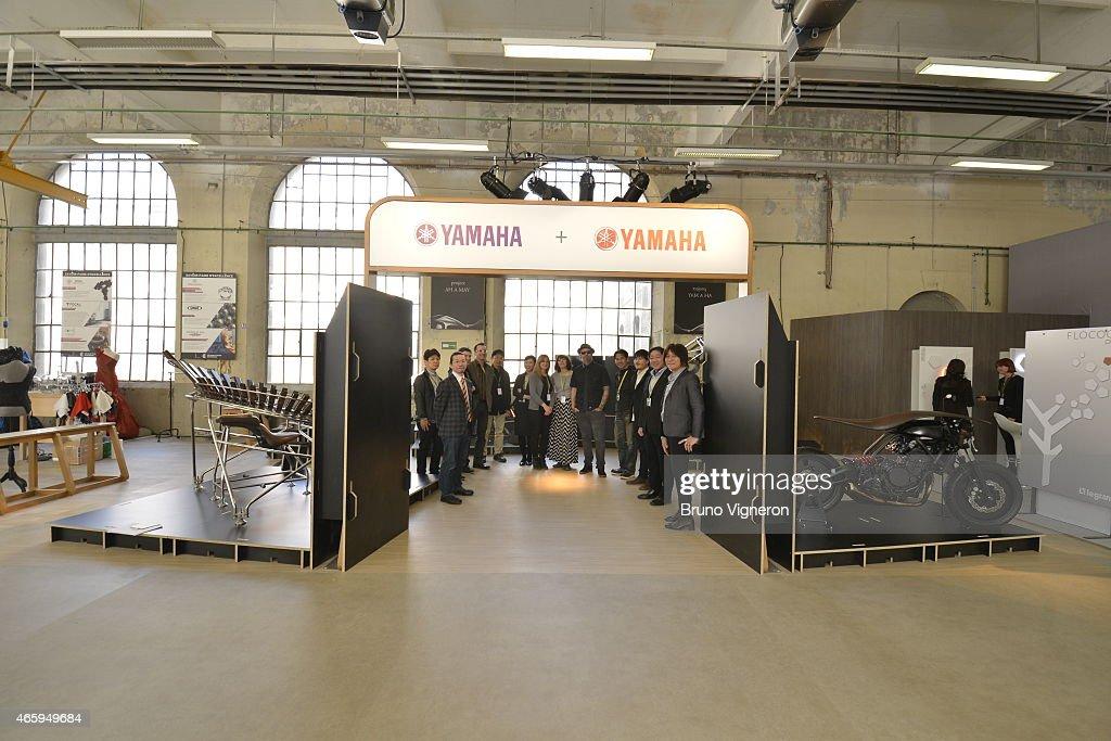 yamaha at biennale design saint etienne getty images. Black Bedroom Furniture Sets. Home Design Ideas