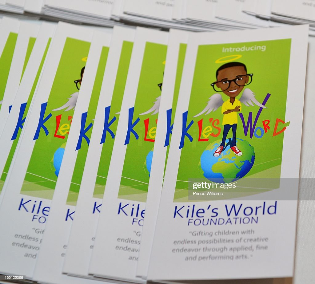 General view of birthday and foundation launch of Kile's World to honor Kile Glover at the Woodruff Arts Center on March 29, 2013 in Atlanta, Georgia.