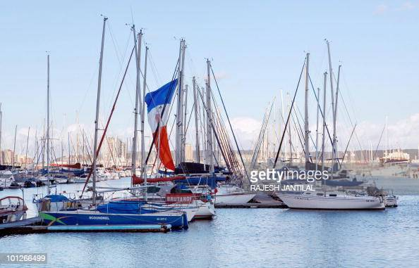 A general view of boats at the Durban Point Yacht Club on May 29 2010 in Durban South AfricaThe port of Durban the ninth largest harbour in the world...