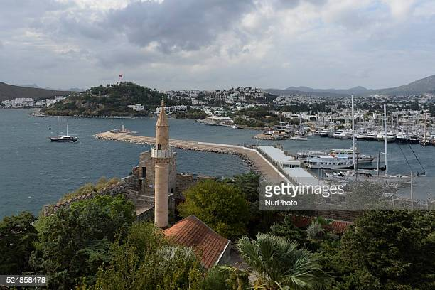 A general view of Bodrum harbour Bodrum Turkey on October 22 2015