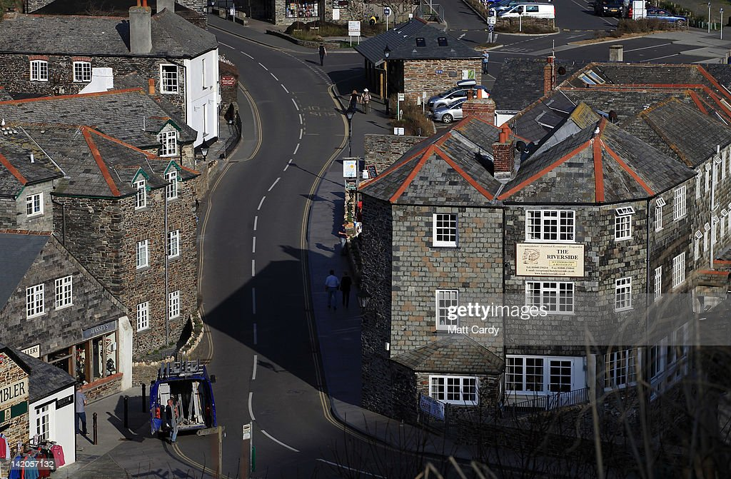 A general view of Boscastle is seen on March 28, 2012 in Cornwall, England. With only a few months to go until the opening ceremony of the London 2012 Olympic games, Britain's tourist industry is hoping to benefit from the influx of athletes, officials and visitors.