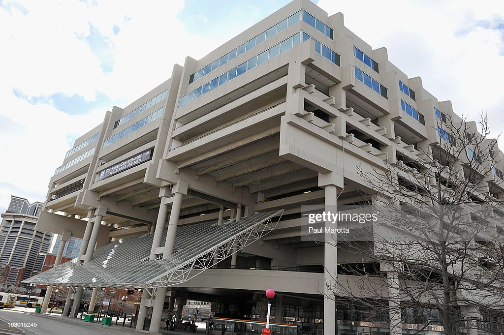 A general view of Boston's Government Center subway stop and parking garage on March 3, 2013 in Boston.