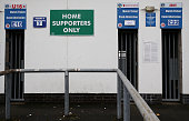 General view of Boundary Park home of Oldham Athletic on January 5 2015 in Oldham England