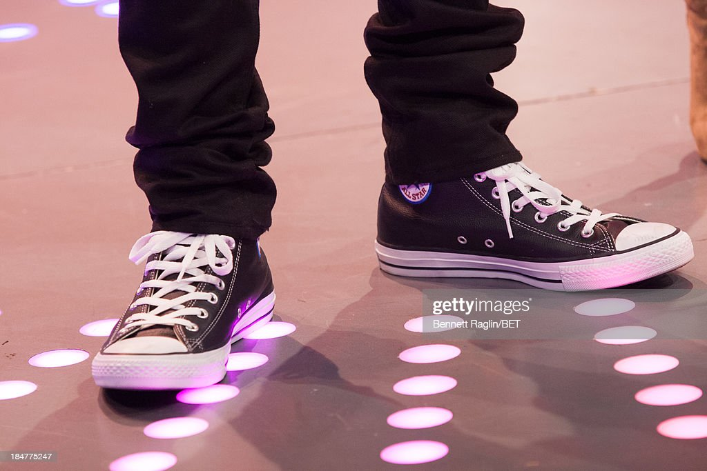 A general view of Bow Wow shoes during 106 & Park at 106 & Park studio on October 15, 2013 in New York City.