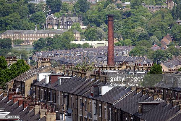 A general view of Bradford City where police have arrested a man on suspicion of murder on May 27 2010 in Bradford England West Yorkshire Police have...