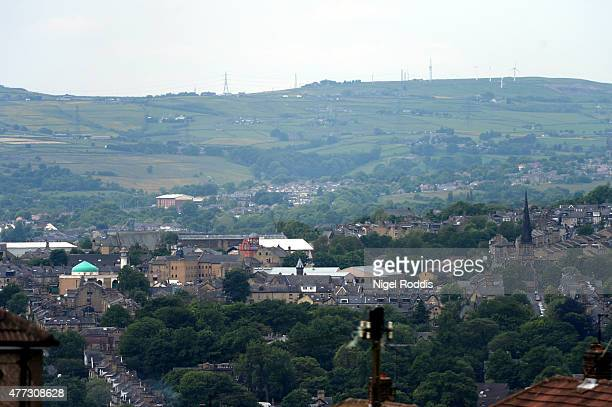 A general view of Bradford on June 16 2015 in Bradford England Three sisters from Bradford are feared to have travelled to Syria with their nine...