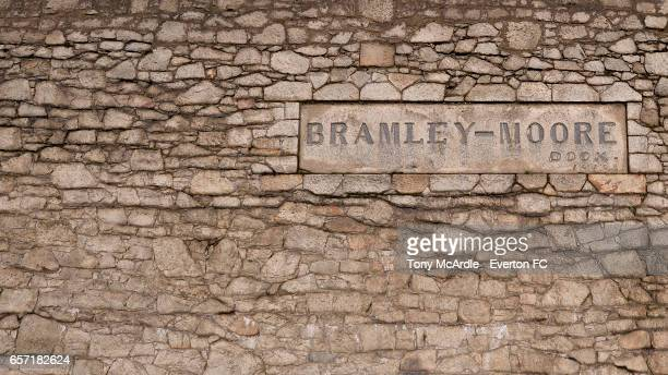 A general view of Bramley Moore Dock on March 24 2016 in Liverpool England