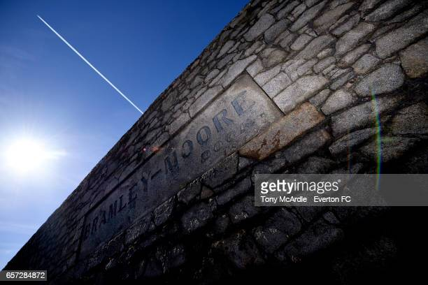 A general view of Bramley Moore Dock on March 24 2017 in Liverpool England