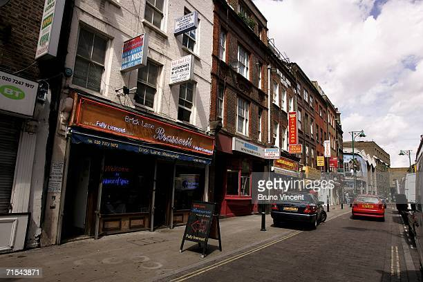 A general view of Brick Lane on July 31 2006 in London A film adaptation of the book 'Brick Lane' by author Monica Ali has met a campaign to halt the...