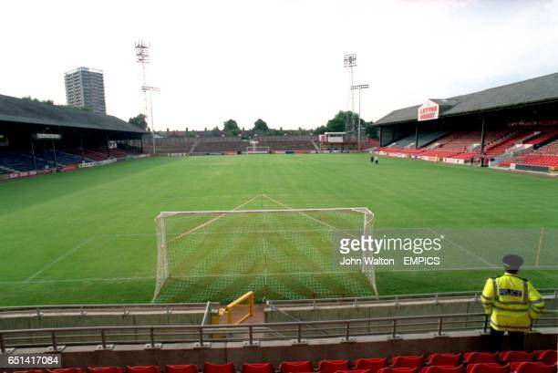 A general view of Brisbane Road home of Leyton Orient