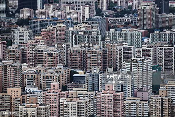 A general view of buildings on the skyline on June 12 2012 in Beijing China Beijing is the capital of the People's Republic of China and one of the...