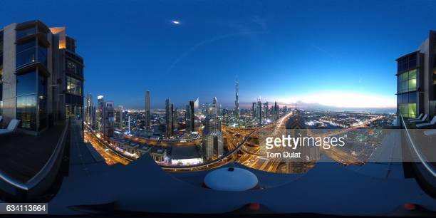 A general view of Burj Khalifa on February 6 2017 in Dubai United Arab Emirates