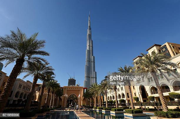 A general view of Burj Khalifa on November 9 2016 in Dubai United Arab Emirates