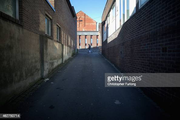 A general view of Burslem on February 4 2015 in Burslem StokeonTrent United Kingdom The North South divide is demonstrated by latest statistics One...