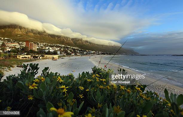 A general view of Camps Bay on June 19 2010 in Cape Town South Africa