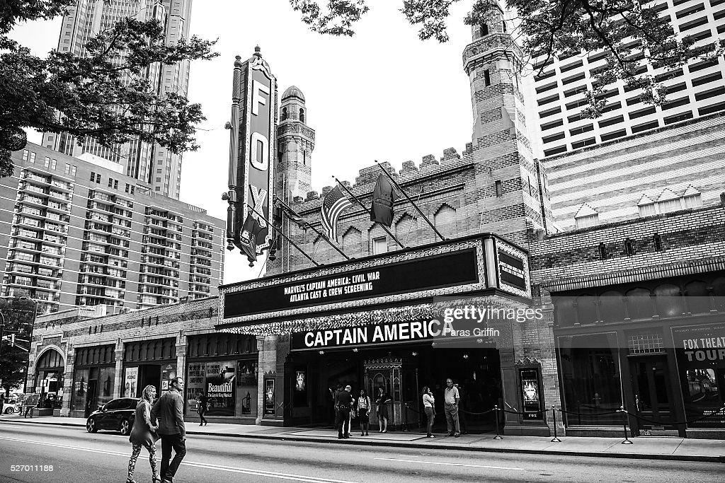 A general view of 'Captain America: Civil War' Atlanta cast & filmmakers screening at The Fox Theatre on May 1, 2016 in Atlanta, Georgia.
