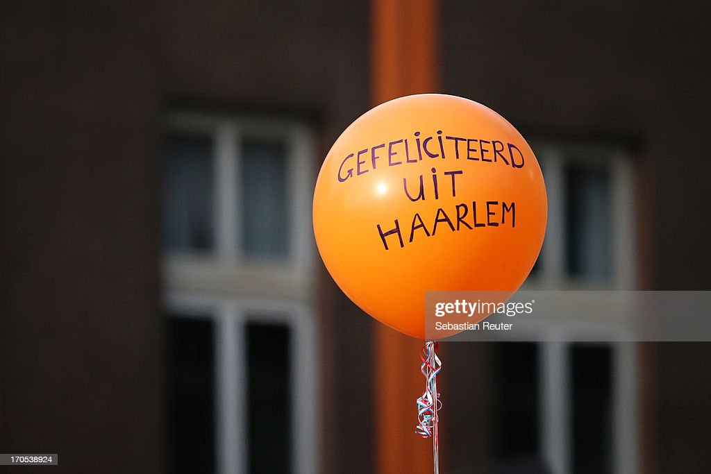 A general view of celebrations for the inauguration of King Willem Alexander of the Netherlands as Queen Beatrix of the Netherlands abdicates on April 30, 2013 in Amsterdam, Netherlands.