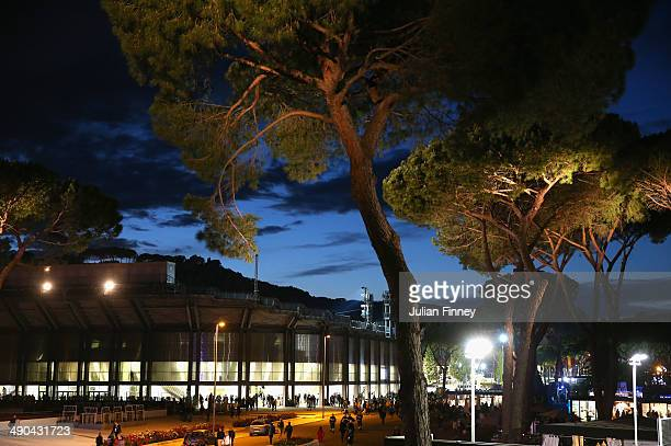 A general view of centre court during day four of the Internazionali BNL d'Italia tennis 2014 on May 14 2014 in Rome Italy