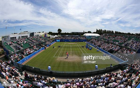 A general view of centre court on day four of the Aegon Open Nottingham at Nottingham Tennis Centre on June 24 2015 in Nottingham England