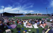 A general view of Centurion Park during the one day international between South Africa and New Zealand at Centurion Park South Africa on October 25...