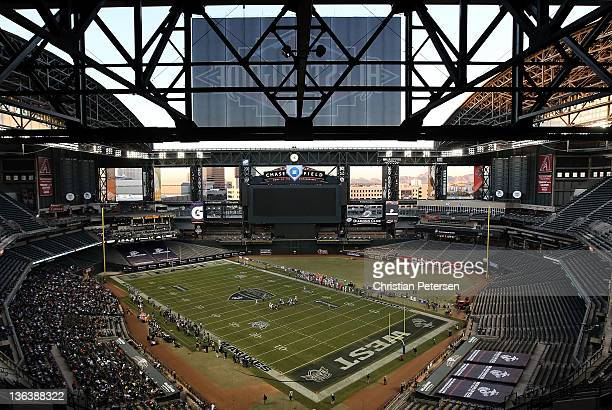 General view of Chase Field during the Semper Fidelis AllAmerican Bowl between the East and West Teams on January 3 2012 in Phoenix Arizona