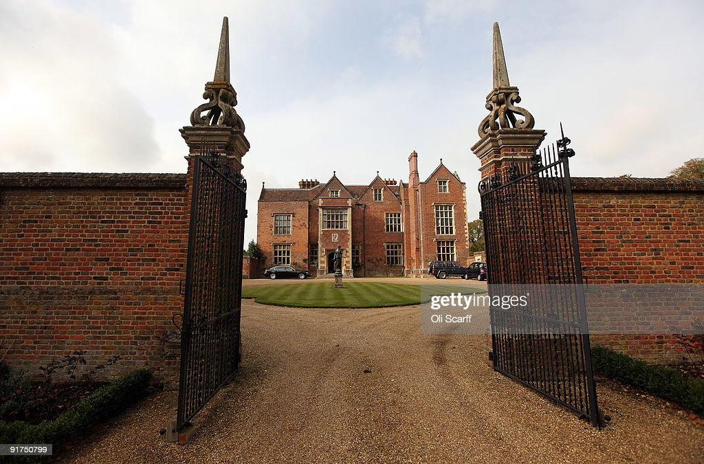 A general view of Chequers the Prime Minister's official country residence on October 11 2009 in Buckinghamshire England The property which dates...