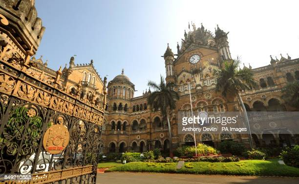 General view of Chhatrapati Shivaji Terminus formerly Victoria Terminus in Mumbai India PRESS ASSOCIATION Photo Picture date Tuesday November 27 2012...