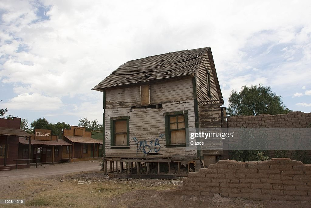 General view of Chupaderos Durango movie set where was filmed The Sons of Katie Elders Combat of Giants The Invincible Chisum Bic Jake and others on...