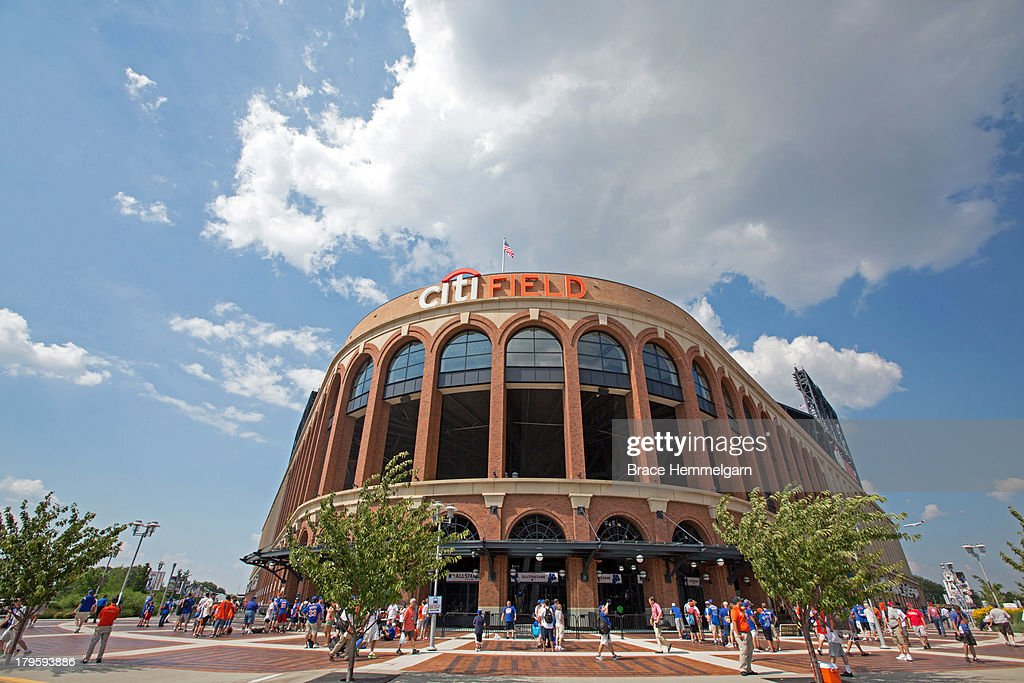 A general view of Citi Field prior to the 84th MLB AllStar Game on July 16 2013 in the Flushing neighborhood of the Queens borough of New York City...