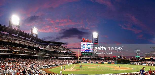 A General View of Citizens Bank Park during the game between the Atlanta Braves and the Philadelphia Phillies on August 6 2012 in Philadelphia...