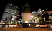 A general view of CityCenter including Crystals the project's retail and entertainment district December 8 2009 in Las Vegas Nevada The 67acre USD 85...