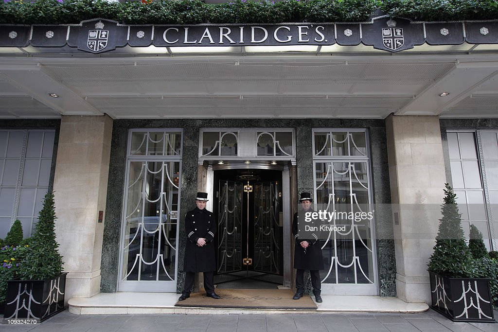 A general view of Claridge's Hotel on February 17, 2011 in London, England.