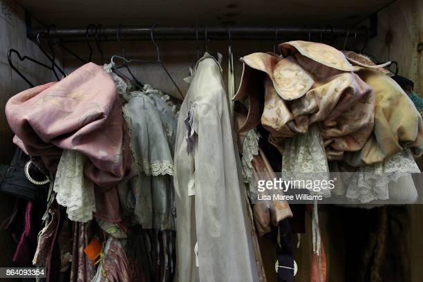 A general view of clothing at The Opera Centre on October 21 2017 in Sydney Australia Opera Australia is making way for new costumes by selling more...