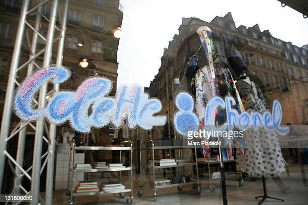 General view of 'Colette Chanel' fashion store on Rue Saint Honore on March 1 2011 in Paris France