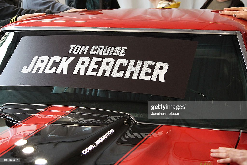 A general view of contestants at the 'Jack Reacher' Reach For Reacher Blu-Ray/DVD Release Event at Hollywood & Highland Courtyard on May 6, 2013 in Hollywood, California.