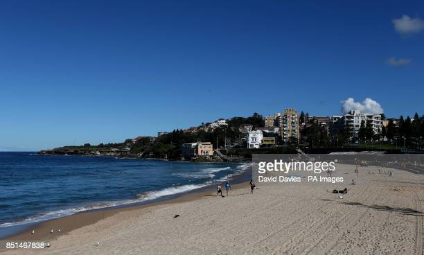 General view of Coogee Beach Sydney in Australia