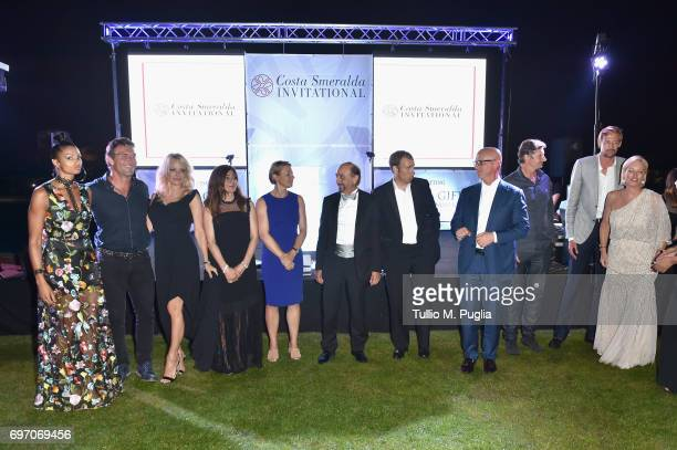 A general view of Costa Smeralda Invitational Gala Dinner at Cala di Volpe Hotel Costa Smeralda on June 17 2017 in Olbia Italy
