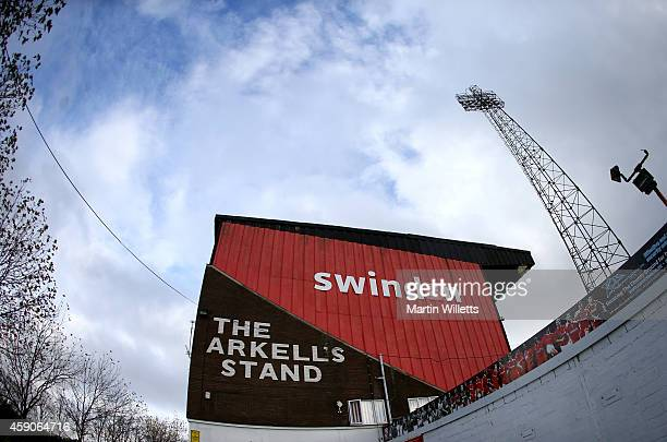 General View of County Ground home of Swindon Town prior to the Sky Bet League One match between Swindon Town and Bristol City at County Ground on...