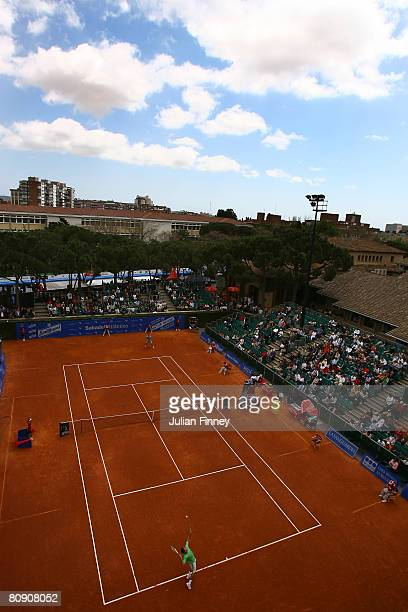A general view of Court 1 during the Open Sabadell Atlantico Barcelona 2008 Tennis at the Real Club on April 29 2008 in Barcelona Spain