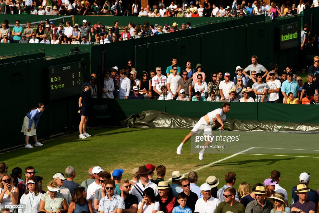 Day Two: The Championships - Wimbledon 2017